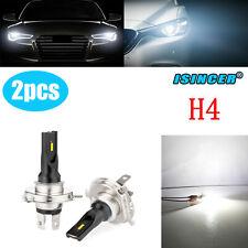 H4 LED Fog Light Bulbs White Headlight 2pcs160W CSP Driving Lamp DRL Lamp 6000K