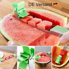 Edelstahl Wassermelonen Schneider Melonenschneider Melonenmesser Obstmesser NEU