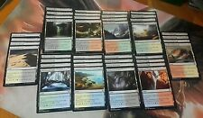 Lot of khans of Tarkir 40X Dual Lands collection Complete playset of each