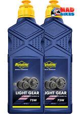 Putoline Aceite de 2 tiempos de Luz Caja de engranajes, KX, CR, rm, yz, KTM, 65, 85, 125, 250 2Ltr