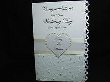 Personalizzata congratulazioni per il tuo Matrimonio/Fidanzamento/carta Anniversario