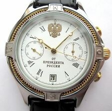 PRESIDENT Russian WATCH Chronograph HERO OF THE SOVIET UNION case from the titan