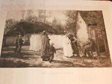 Jules Breton J.A BERTON braun CHARDON PARIS les communiantes HOLY photogravure