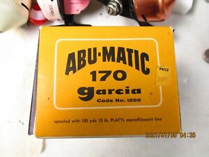 Garcia Abu-Matic 170 Reel with Original Box and Instructions