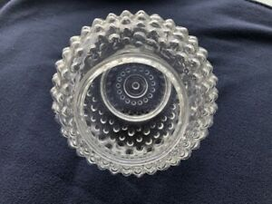 Vintage Clear Hobnail Light Globe Shade for Ceiling Light Fixture (1)
