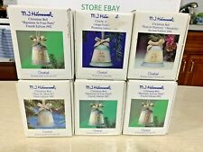 New Listing(Lot of 6) Goebel Hummel Bell Ornaments 1991-1994 New in Boxes