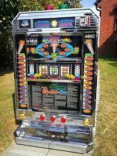 Spielautomat Geldspielgerät BIG QUEEN CASINO Chromgehäuse RARITÄT 1:1 Euro