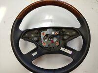 05-11 MERCEDES W164 Steering Wheel ML63 AMG 4 SPOKES 1644606603