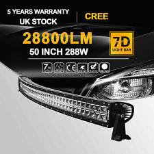 """50"""" LED Car Work Light Bar Spot Flood Offroad Roof Lights Driving Lamp Bar Fun"""