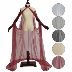 Lady Long Elven Cloak Wedding Dress Cloak Elf Fairy Gown Party Fancy Dress