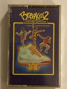 BREAKIN' 2 ELECTRIC BOOGALOO Original Soundtrack 1984 CASSETTE New SEALED