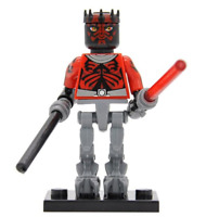DARTH MAUL DARKSABER STAR WARS THE CLONE WARS MINI FIGURE CUSTOM LEGO MINI FIG