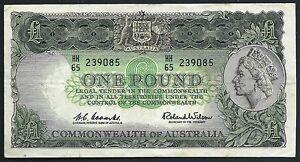 Australia 1961-5 1 Pound  Pk34a VF