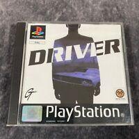 Driver PS1 PlayStation 1 PAL Game Complete Black Label
