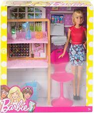 BARBIE Arbeitszimmer mit Zubehör und Puppe Mattel DVX52 Möbel Einrichtung Büro