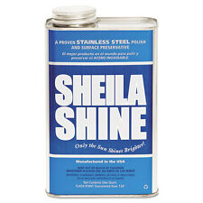 Sheila Shine Stainless Steel Cleaner & Polish, 1gal Can, 4/Carton