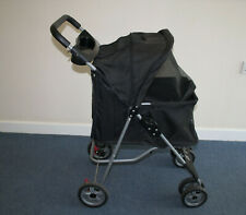 PET STROLLED - DOG CAT - Pushchair Pram Jogger Trolley Puppy Folding Carrier VGC