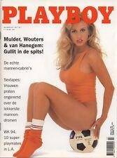Dutch Playboy Magazine 1994-07 Traci Sikkink, Elizabeth Nottoli ...
