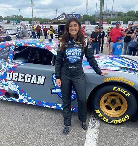NASCAR SUPERSTAR HAILIE DEEGAN  8X10 PHOTO SRX NASHVILLE