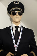 AIR FRANCE airlines Lanyard neckstrap Lanyard for pilots, crews, fans