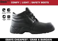 Safety Work Boots S1P with Steel Toe Cap and Steel Midsole