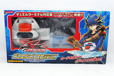 [Exc+++] Yu-Gi-Oh 5D's Duel Disk Launcher Yusei Version DX w/ Box from Japan