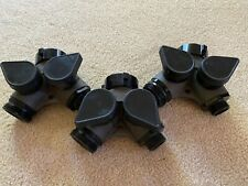 Lot Of 3 Task Force Tips Tft Gated Wye Fire Hose Adapters Wildland Firefighting