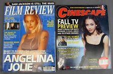 Film Review #597 September & Cinescape October 2000 Angelina Jolie Jessica Alba