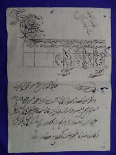 India Fiscal Stamp Paper Court Fee Revenue ancient document #011