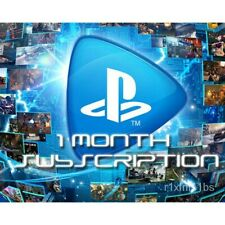 Playstation Now 1 Month Subscription  - UK/EU REAL CARDS