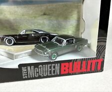 Greenlight  Chase GREEN MACHINE Diorama Steve McQueen BULLITT '68 MUSTANG VHTF