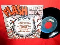 FLASH Keep on Rolling THE ROLLING STONES 45rpm 7' + PS 1981 ITALY MINT-