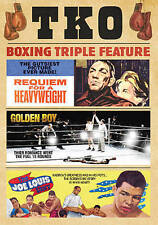 TKO BOXING TRIPLE FEATURE DVD BNISW DAY U PAY IT SHIPS FREE SEE BELOW FOR