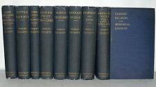 8 Hardback Classics - Charles Dickens. Memorial Edition, HB, c1910 Chapman &Hall