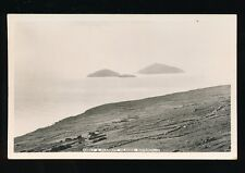 Ireland WATERVILLE Abbey & Scarriff Islands c1920/30s? RP PPC by Cardall