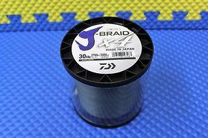 Daiwa J-Braid X4U 30-2700DG Dark Green 30lb 3000yd 4000-2077