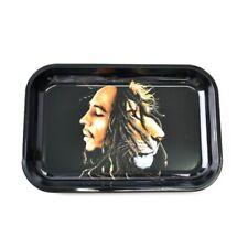 "Rolling Tray ""Rasta Lion"" (Large) 11.25"" x 7.5"" Tobacco Smoke Accessories"