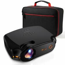 """Mini Projector FHD 1080P 180"""" Display Supported 50,000 Hrs Home Movie Projector"""