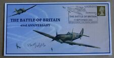 BATTLE OF BRITAIN 63RD ANIV 2003 COVER SIGNED BY WW2 PILOT Flt Lt NORMAN NORFOLK