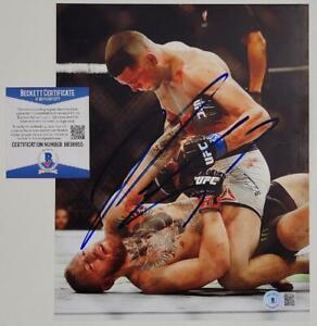 Nate Diaz signed 8x10 Photo UFC MMA Autograph (A) ~ Beckett BAS COA