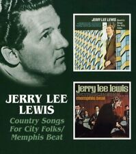 Jerry Lee Lewis - Country Sngs City Folk / Memphis Beat [CD]