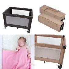 Reisebett Laufstall Babyreisebett Baby Matratze Tragetasche Kinder 110x79 cm