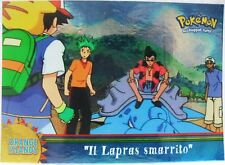 "TOPPS trading cards series 2a 2000 - ""Il Lapras smarrito OR1"" - foil"