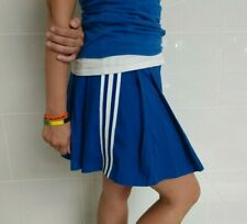 Real Authentic Vintage CDT Blue White Cheerleading Pleated Cheer Uniform Skirt