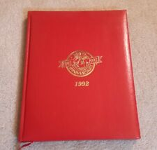St. Louis Cardinals 1992, 100th Anniversary Leather Calendar Book - Unused