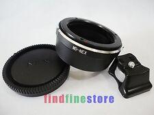 Minolta MD MC Lens to Sony E NEX 3 NEX 5 NEX 7 C3 5C tripod mount adapter + CAP