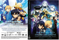 Anime DVD Sword Art Online Alicization (Episode 1-24End) Season 3 DHL Express