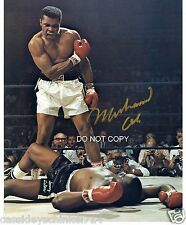 "Muhammad Ali Reprint Signed 8x10"" Photo #2 Legendary Heavyweight Boxing Champion"