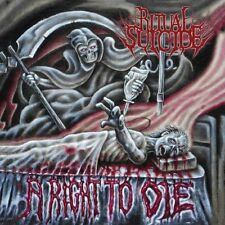Ritual Suicide - Right to Die [New CD] Duplicated CD