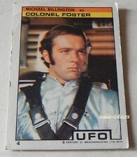 Vintage Carte Collection Michael BILLINGTON as Colonel FOSTER Série UFO 1970